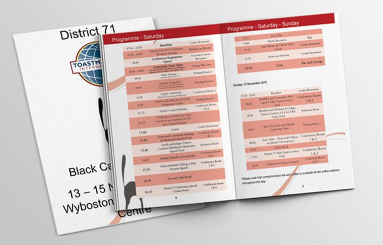toastmasters black cat conference