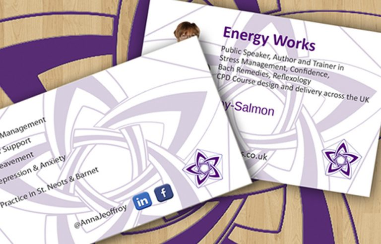Energy Works Business Cards