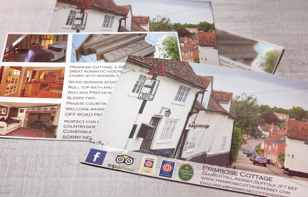 Primrose cottage kersey postcards