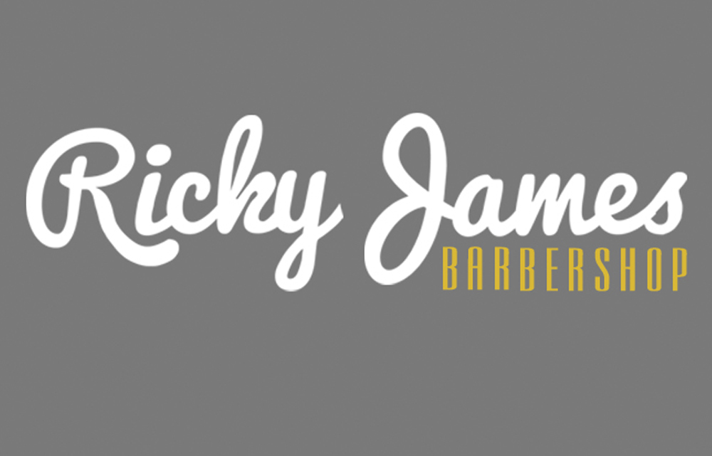 Ricky James Barbersshop St Neots Logo