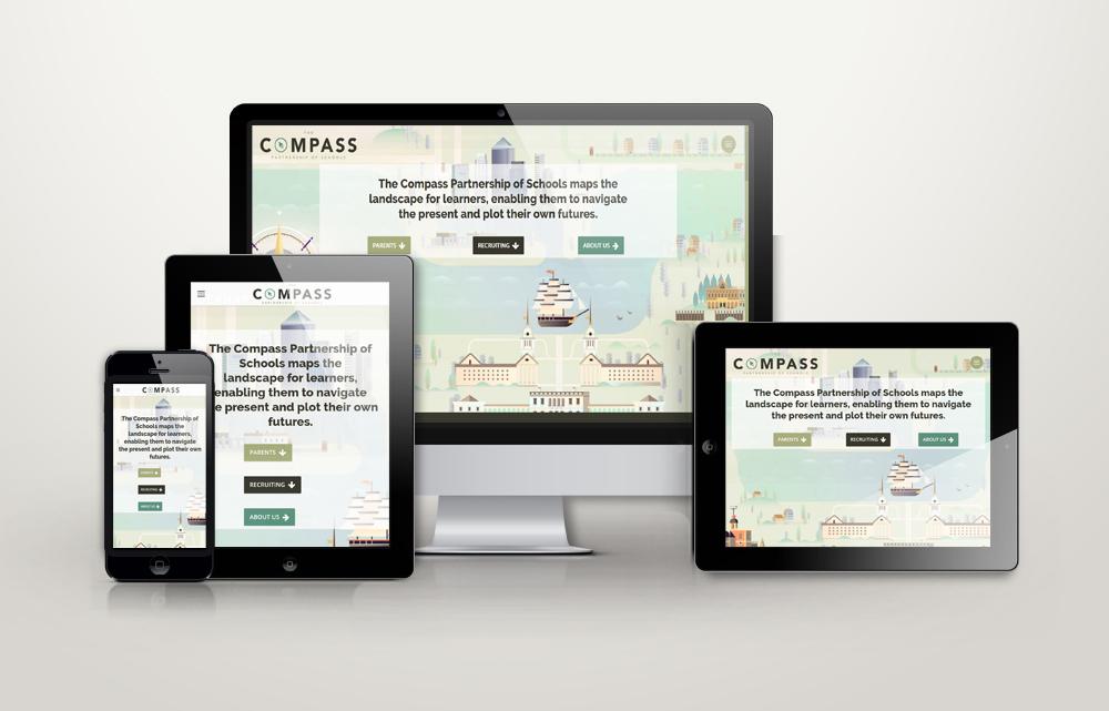 The Compass School Partnership of Schools Website