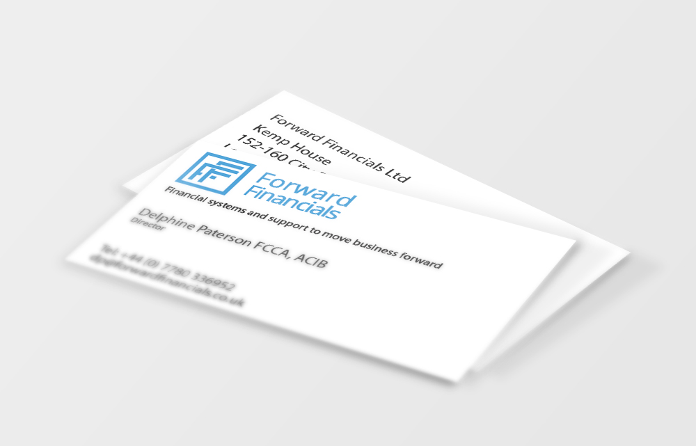 Forward Financials Business Card