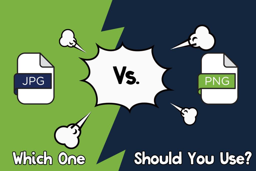 JPG vs PNG file format